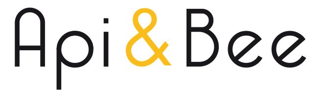 logo de Api & bee